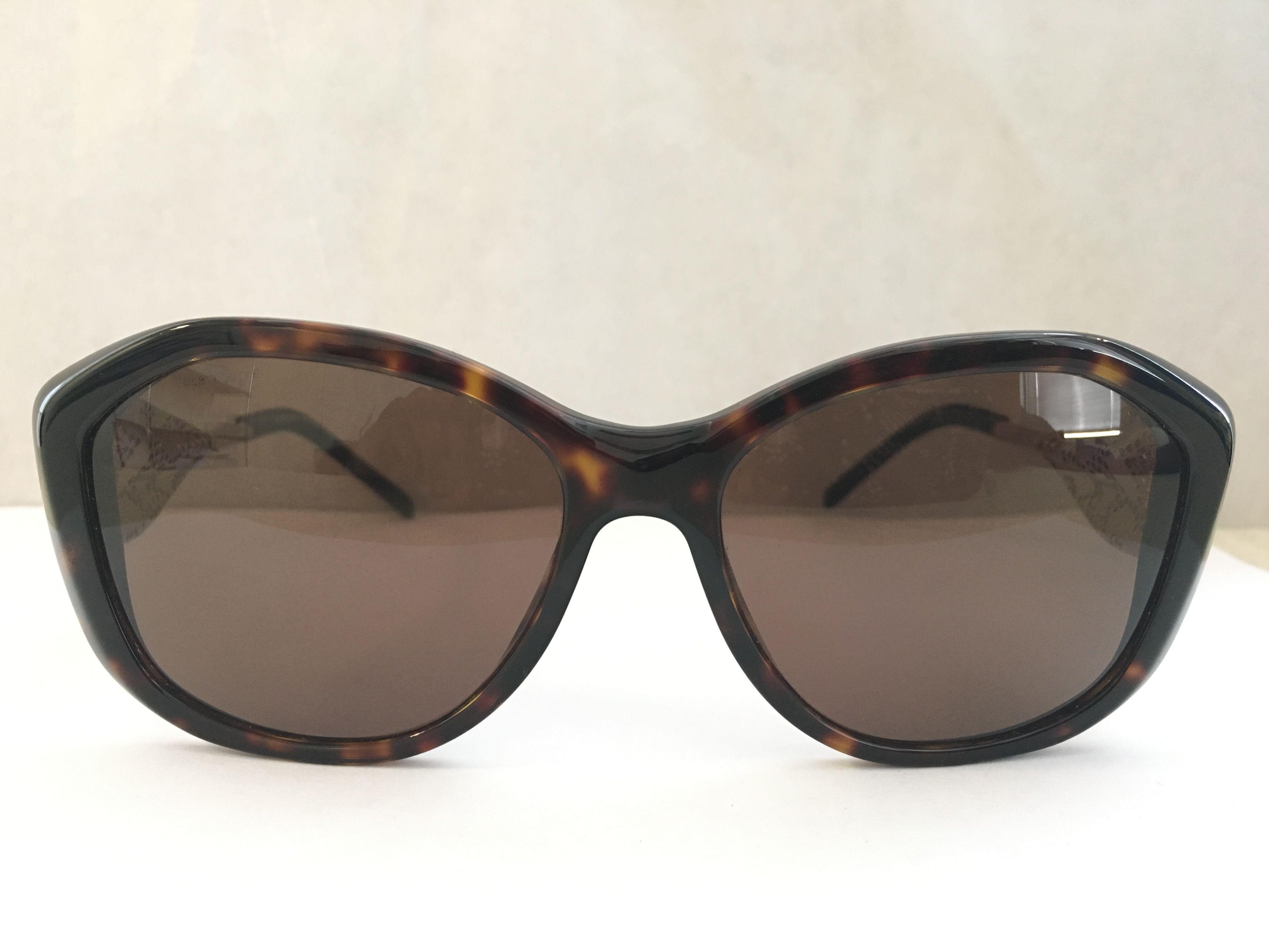 7b4f8793c5 Burberry - Brown Be4208q 300273 Dark Havana Oval Sunglasses - Lyst. View  fullscreen