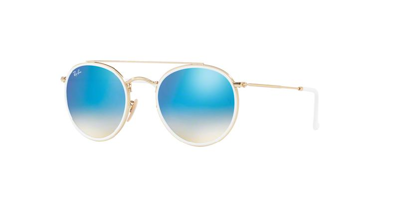 bd945d7235 Lyst - Ray-Ban Rb3647n Sunglasses in Blue for Men
