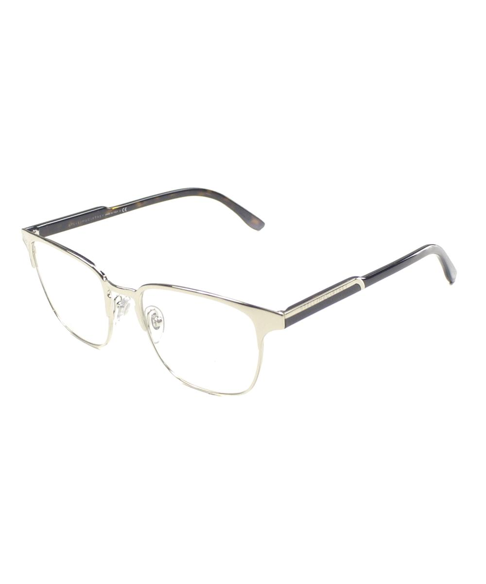 b81bba5f53 Lyst - Stella Mccartney Round Metal Eyeglasses in Metallic