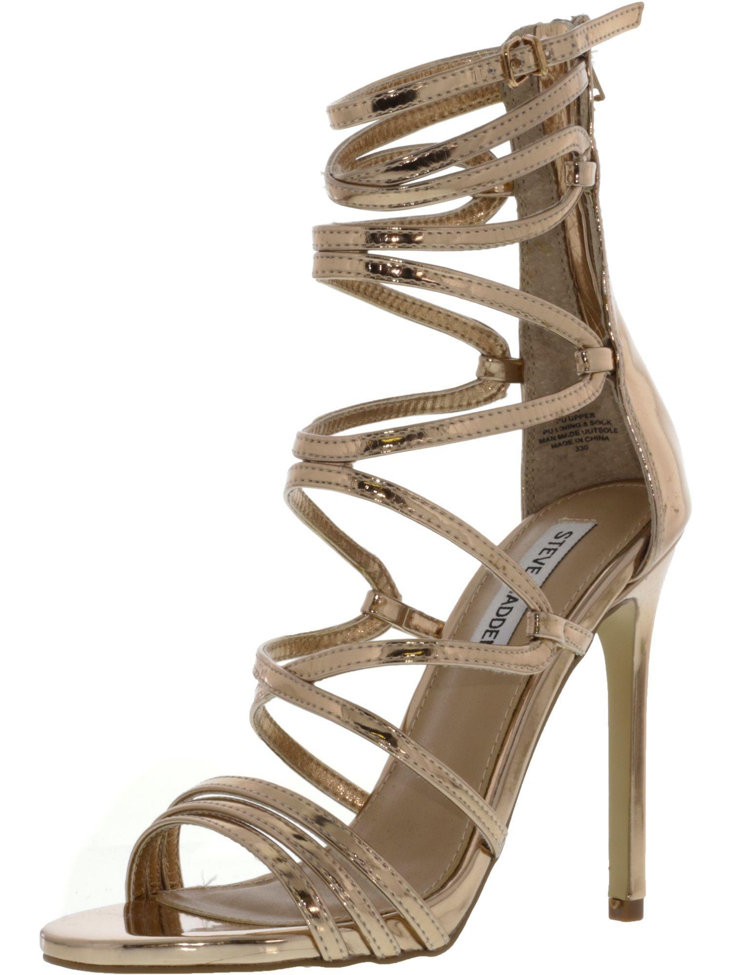 9e17ce6e9c9 Lyst - Steve Madden Women s Flaunt Dark Blush Patent Ankle-high Pump ...