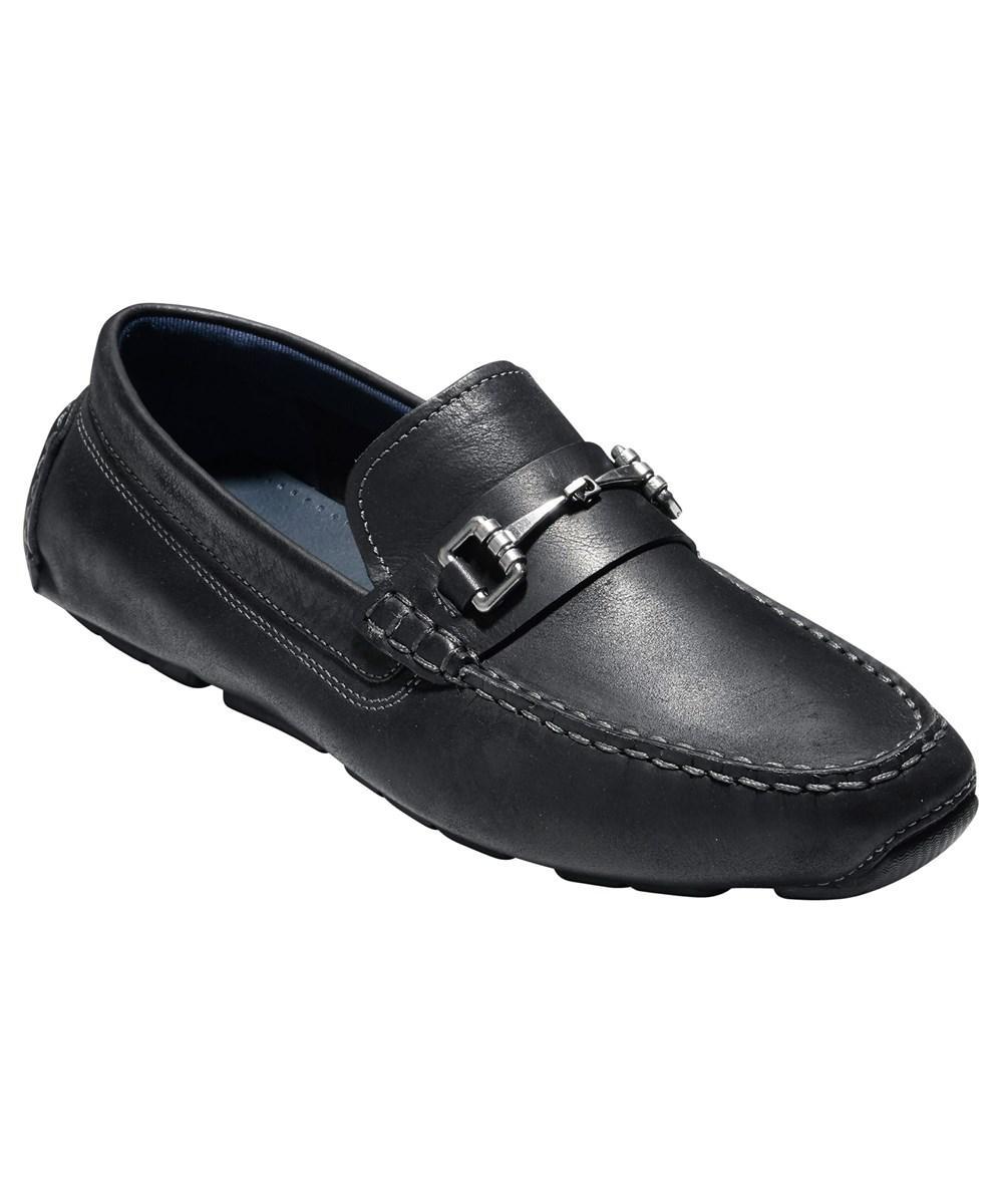 76e8ce5e974 Lyst - Cole Haan Men s Kelson Bit Loafer C24714 Black - Black in ...
