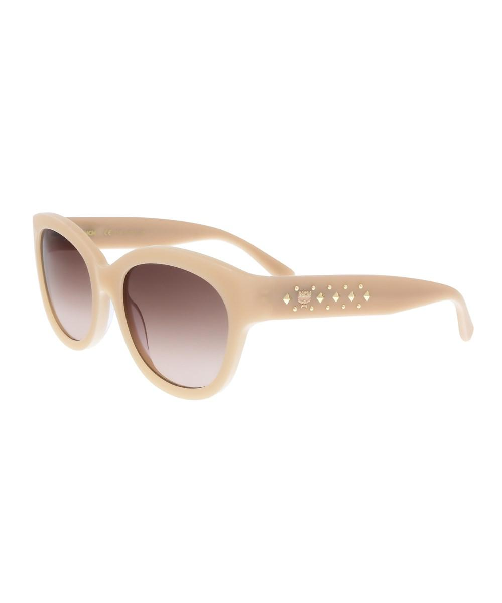 04841271cb Lyst - Mcm 606s 290 Nude Cat Eye Sunglasses in Pink