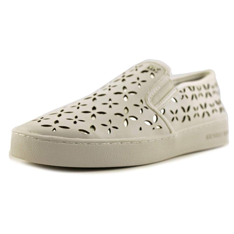 507ee5c61726 Lyst - Michael Michael Kors Women s Keaton Slip On Sneakers in White