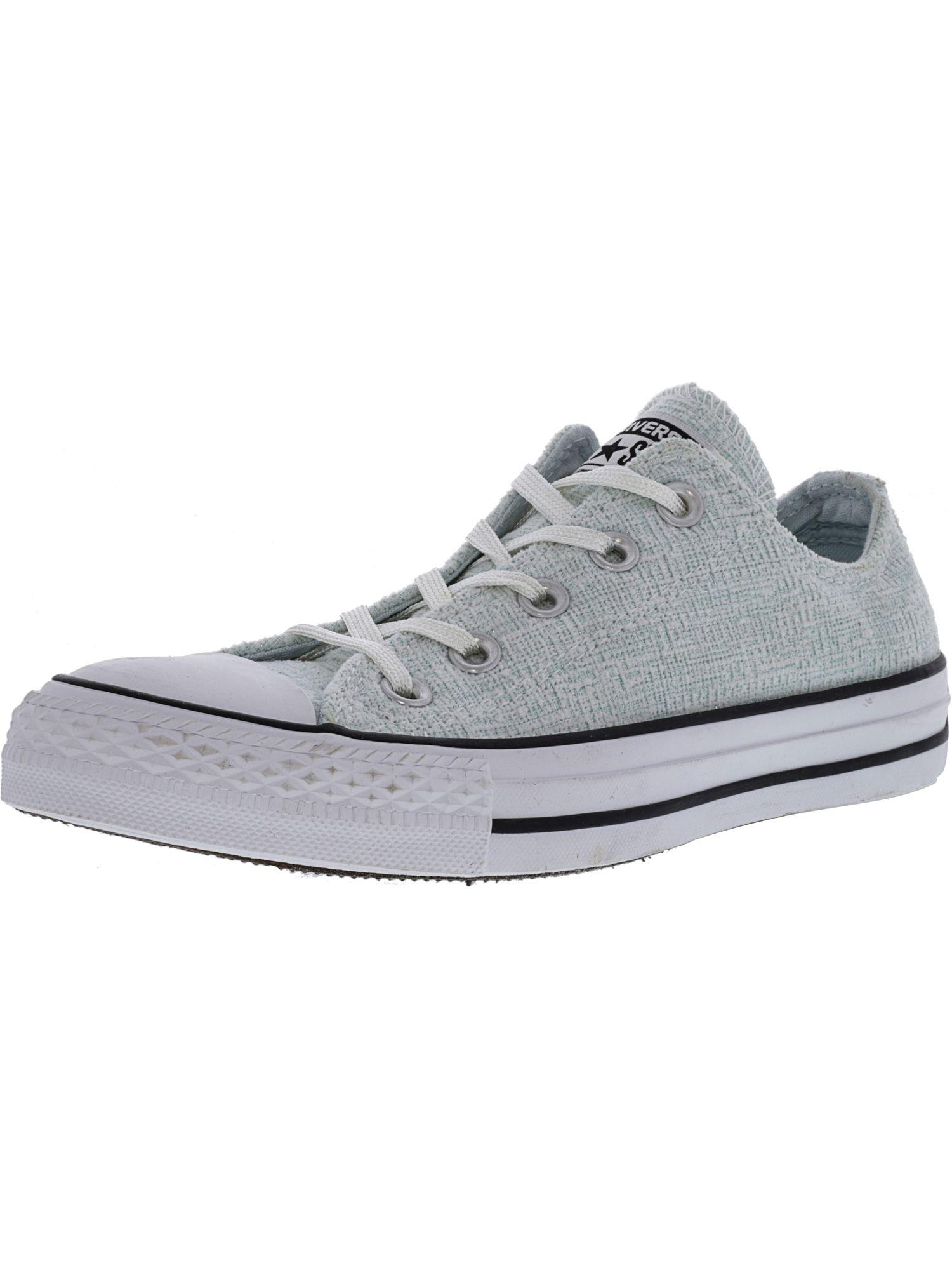 955ad75caf36 Converse. Women s Chuck Taylor All Star Sparkle Knit Ox Polar Blue   Black  White ...
