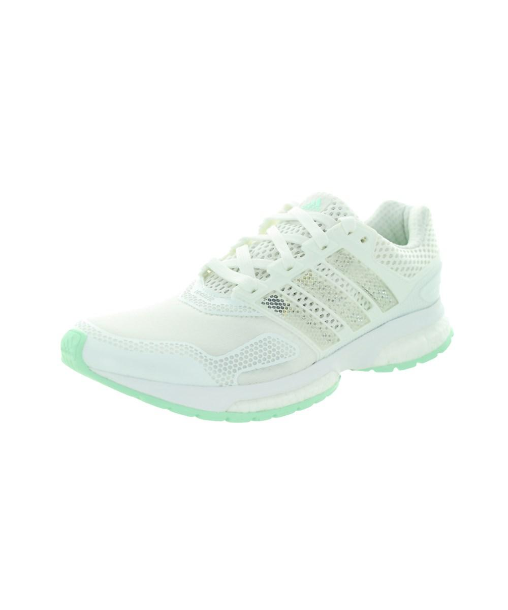 9bf5ab1063d Lyst - Adidas Women s Response Boost 2 Techfit W Running Shoe in White