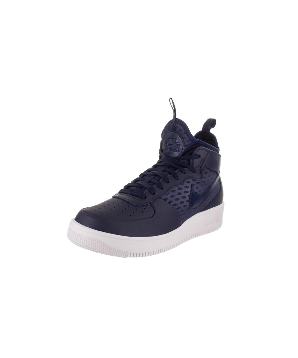 d78724443 Lyst - Nike Men's Air Force 1 Ultraforce Mid Basketball Shoe in Blue ...