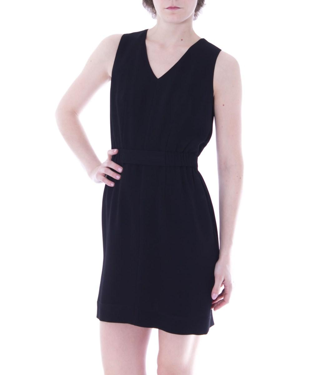 8aa748f9a1 Lyst - Armani Jeans Women s 3y5a415nyfzblack Black Polyester Dress ...