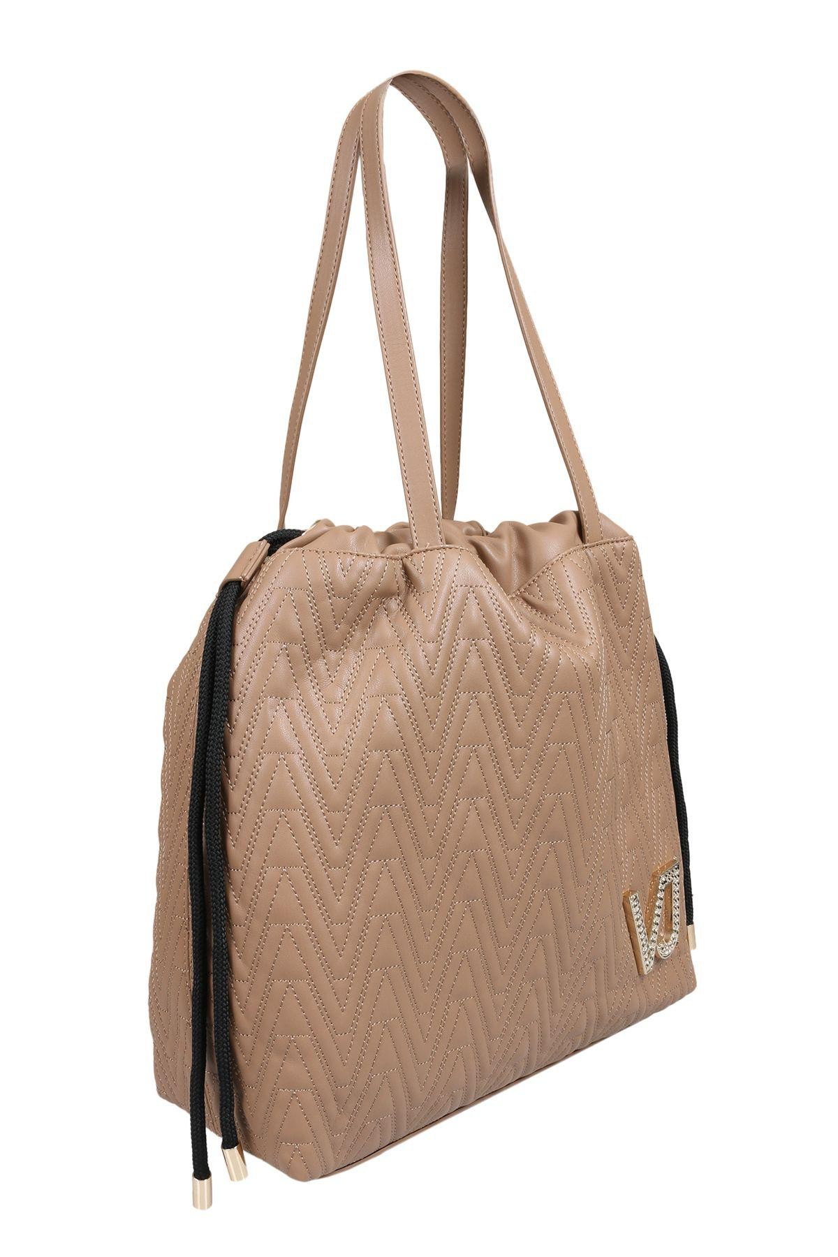 78bf295bb20b Lyst - Versace Ee1vsbbi3 E723 Tan Tote Bag in Brown