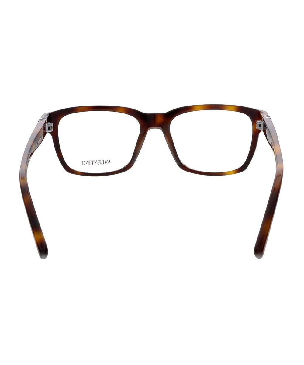711c182290 Lyst - Valentino V2634 214 Havana Rectangular Eyewear in Brown