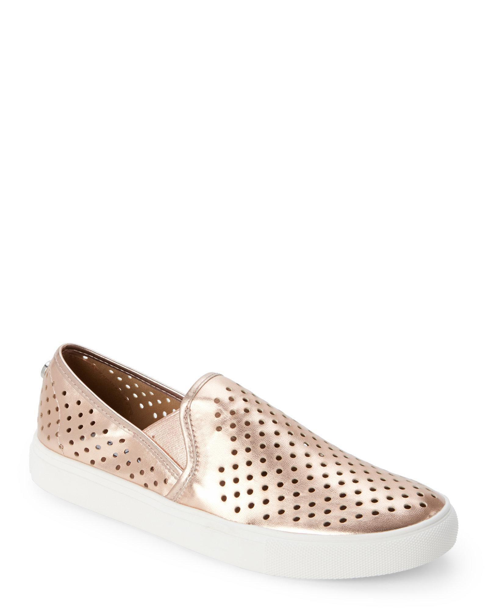 840222be26d Steven by Steve Madden. Pink Womens Owen Low Top Slip On Fashion Sneakers