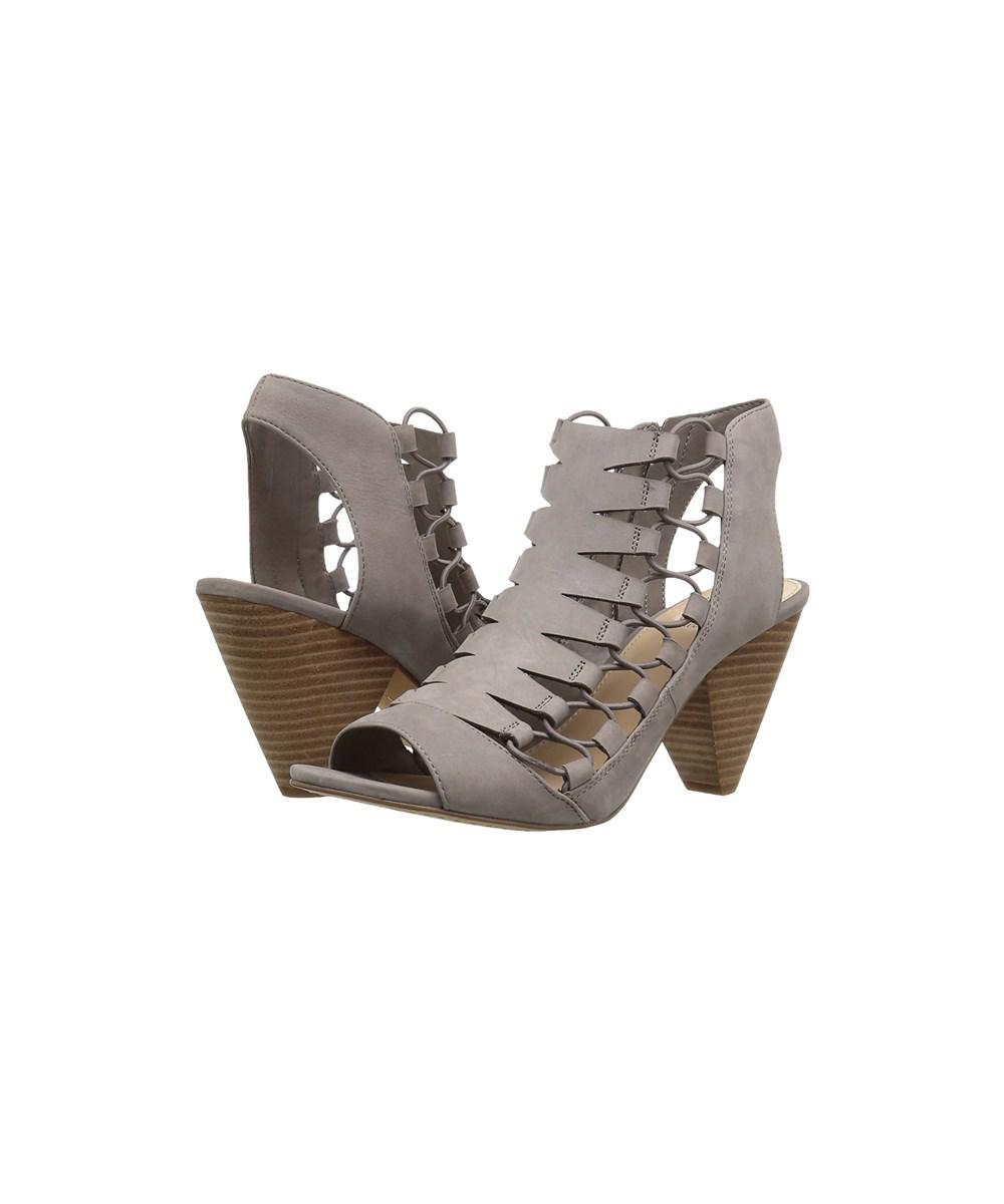 d2f78ee2075 Lyst - Vince Camuto Womens Eliaz Leather Peep Toe Casual Strappy ...