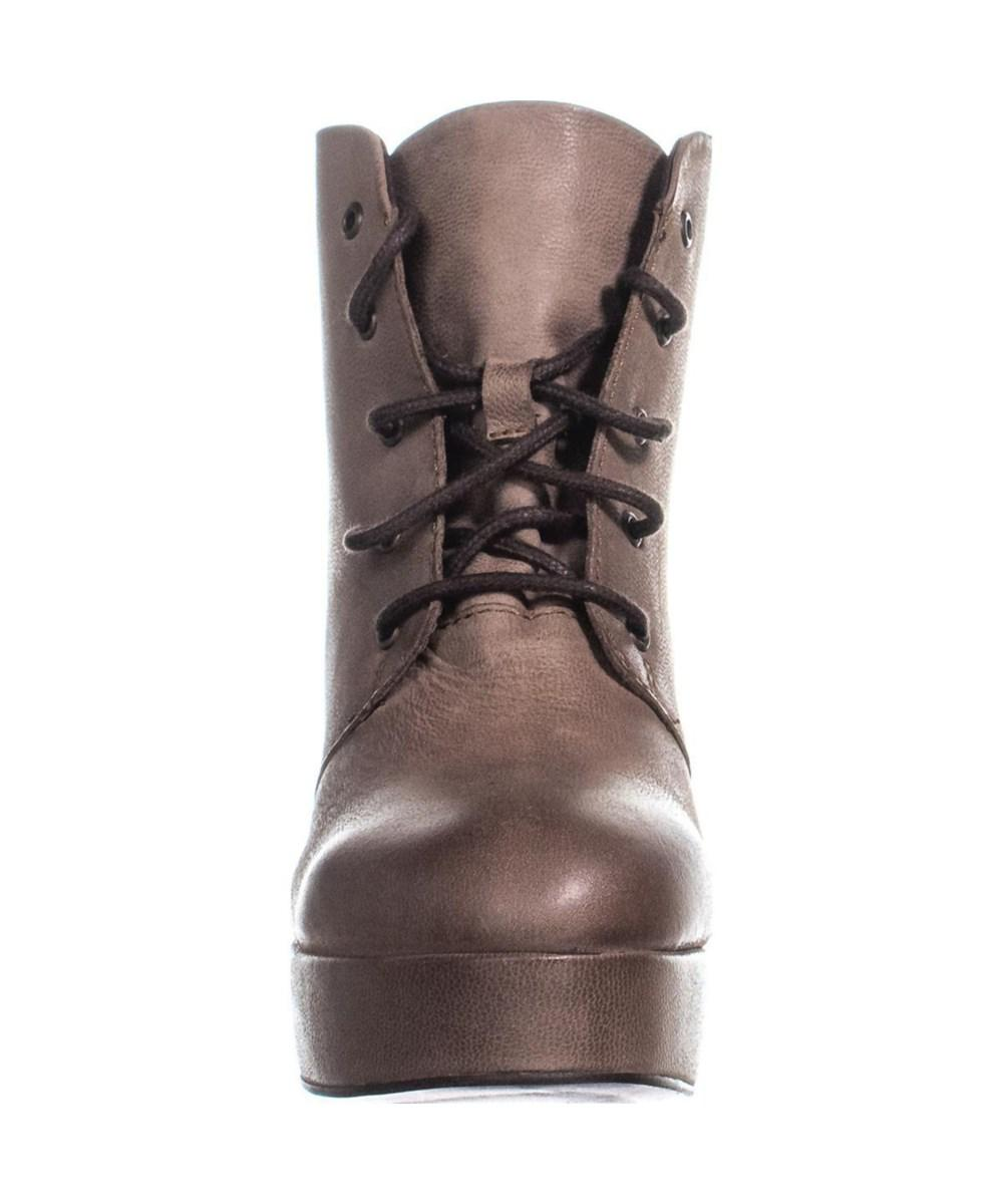 07936e1d93a Lyst - Steve Madden Raspy Lace-up Platform Ankle Boots