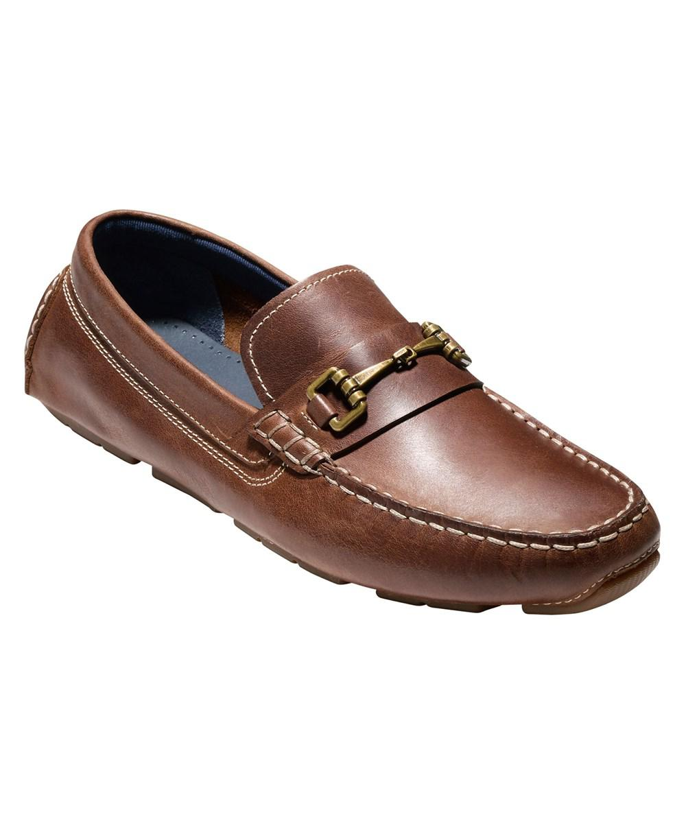 0e34aa031a3 Lyst - Cole Haan Men s Kelson Bit Loafer C24715 British Tan ...
