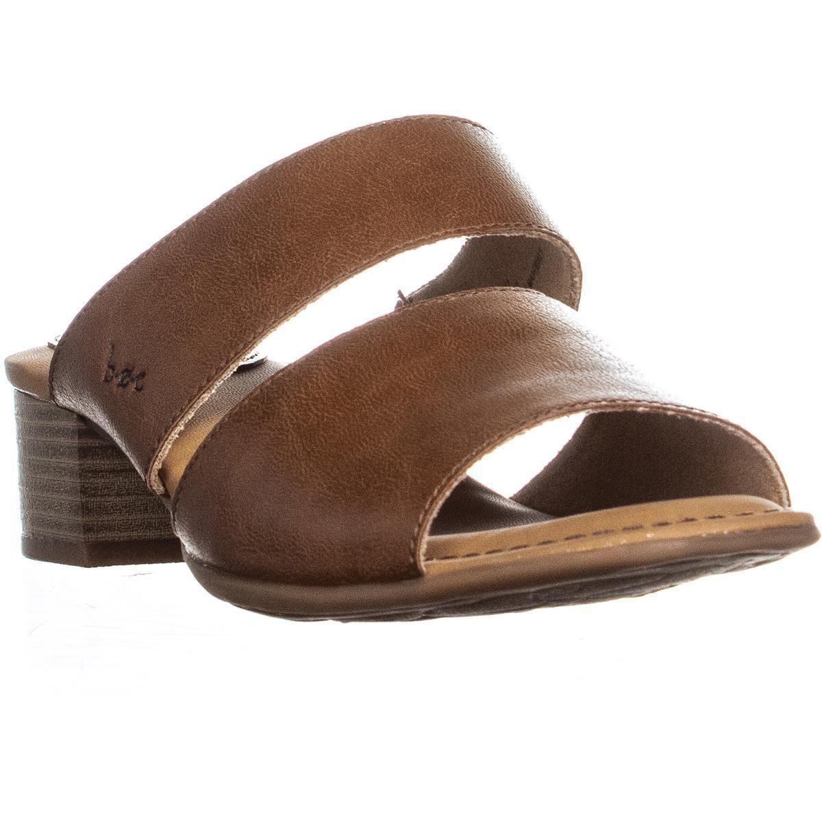 c584567a28134 Born womens lyanna block heel slide mule sandals light brown jpg 1200x1200 Light  brown mule
