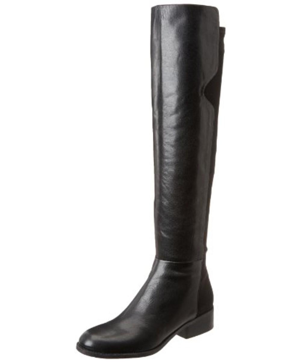 fd3a5e777b3 Lyst - Nine West Women s Pristeen Riding Boot in Black