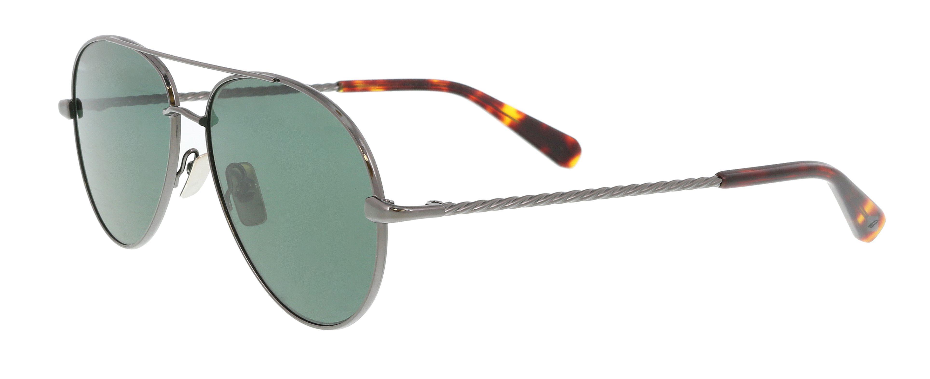 fb978eaaef Lyst - Brioni Br0034s-004 Ruthenium Aviator Sunglasses for Men