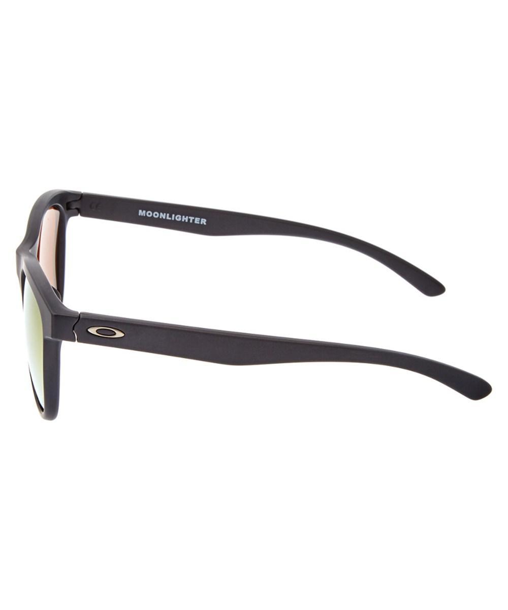 680a91df35 ... Lyst - Oakley Womens Moonlighter Polarized Sunglasses in Bla best place  8848a 74c34 ...