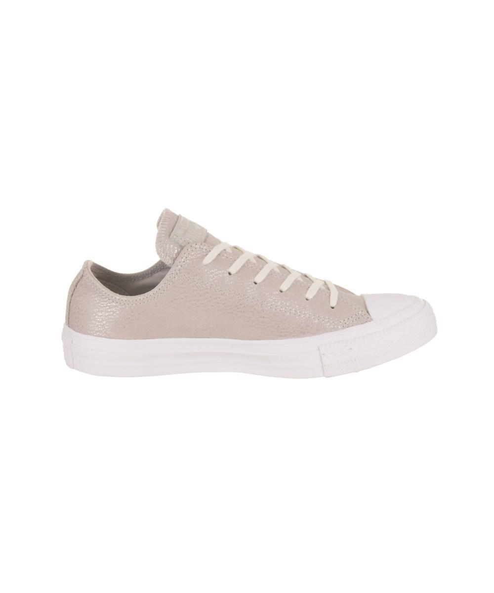 4e661050128122 Lyst - Converse Women s Chuck Taylor All Star Ox Casual Shoe in Metallic