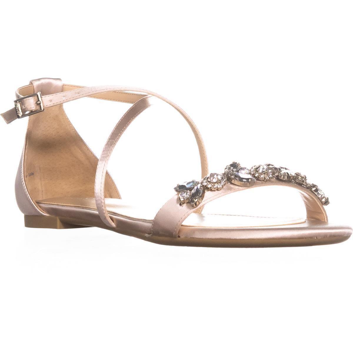 673d93086 Badgley Mischka. Women s Jewel By Tessy Rhinestone Sandals ...