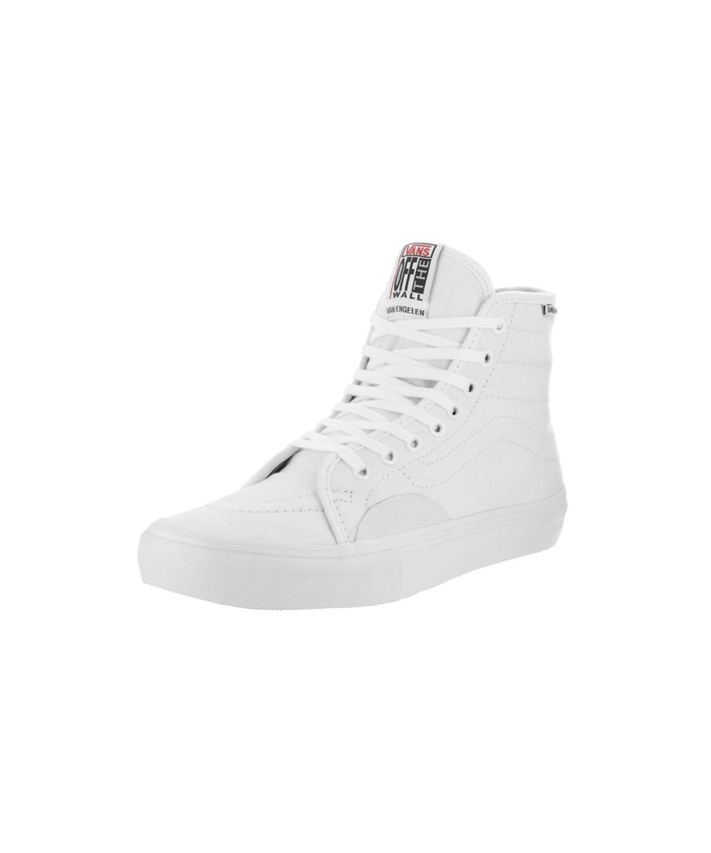 b746f76bc4ab Lyst - Vans Men s Av Classic High Pro Skate Shoe in White for Men