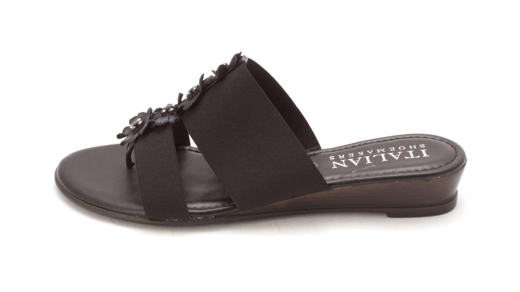 265e4fb3984 Lyst - Italian Shoemakers Womens Greta L Open Toe Casual Slide ...