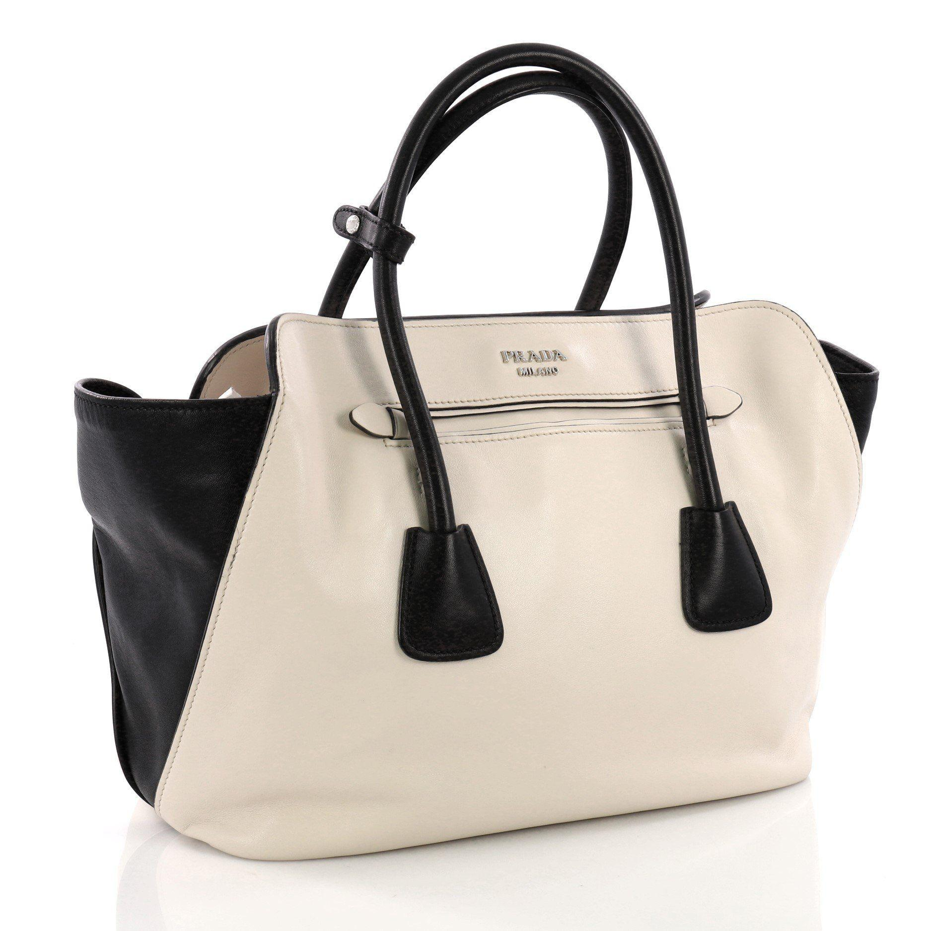 45c811bbb1d3 Prada - Multicolor Pre Owned Cuir Convertible Shopping Tote Soft Calfskin  Large - Lyst. View fullscreen