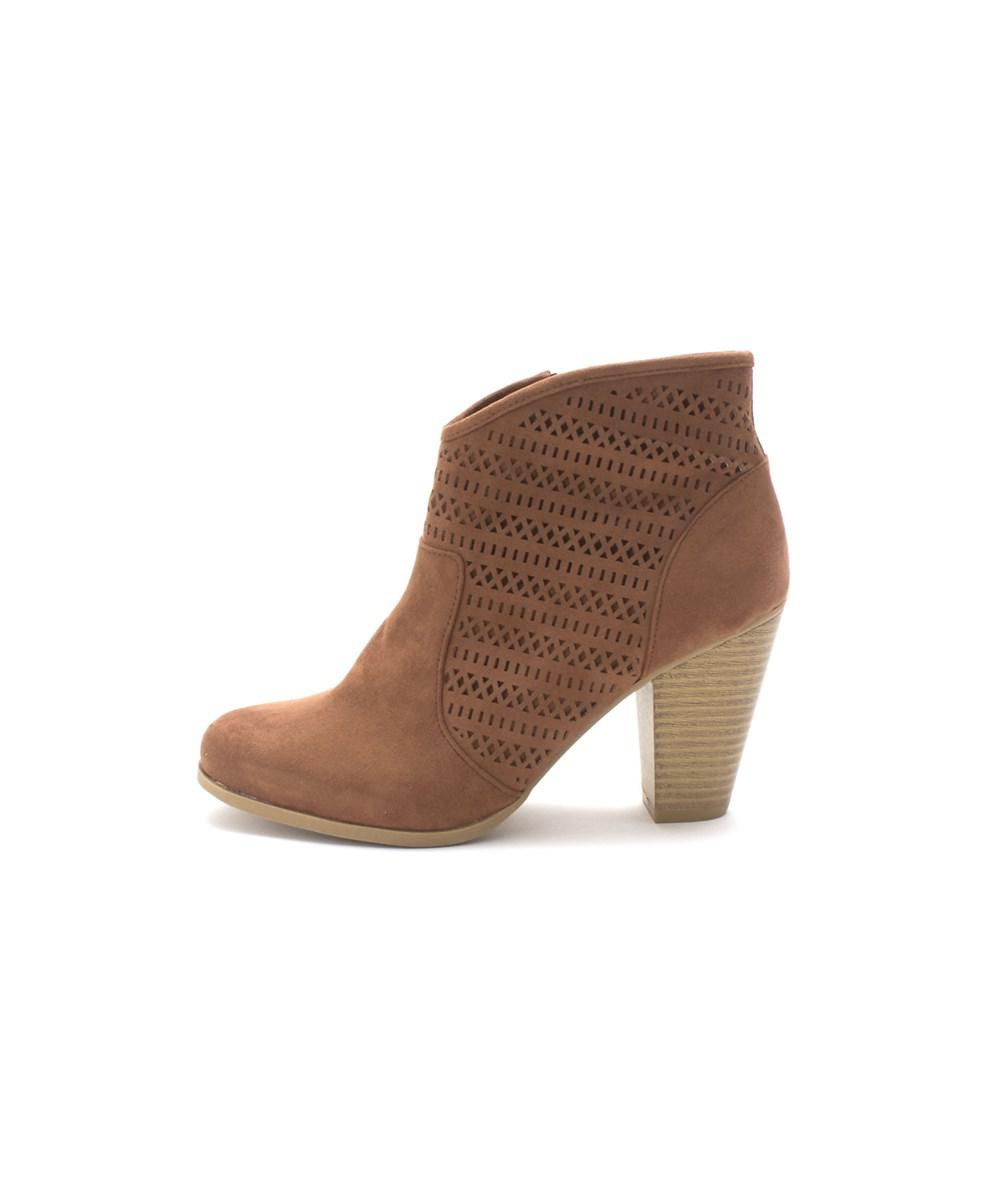 Womens Aariane Almond Toe Ankle Fashion Boots