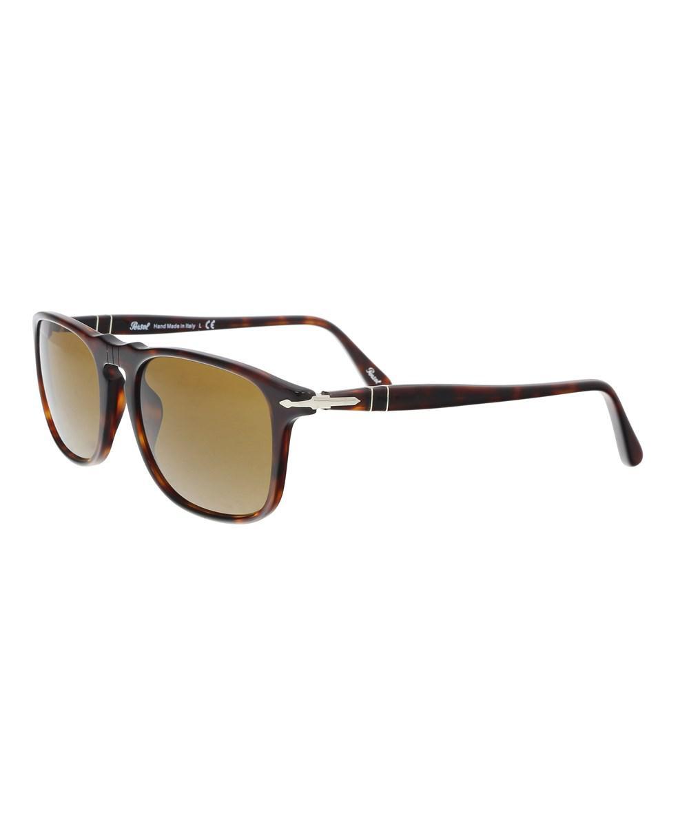 779016258c383 Persol Po3059s 24 33 Havana Rectangle Sunglasses in Brown for Men - Lyst