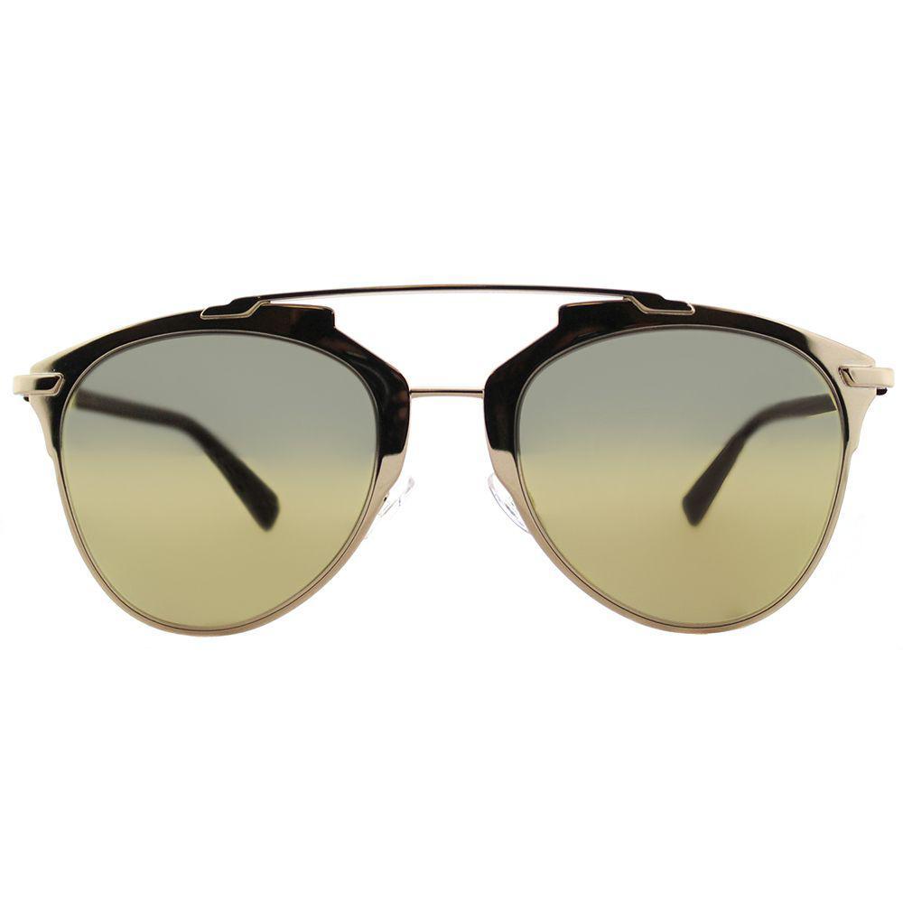 57c319772049 Dior - Metallic Cd Reflected Yc2 K1 Gold Plum Aviator Sunglasses - Lyst.  View fullscreen