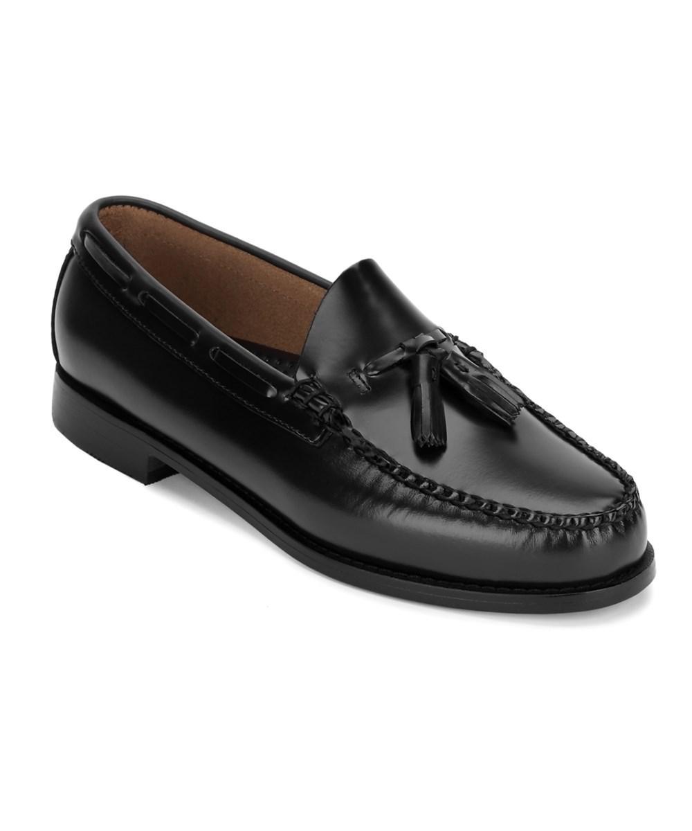 G.H. Bass & Co. Women's Black . Men's Weejuns Lexington Dress Tassel Loafer  Shoe