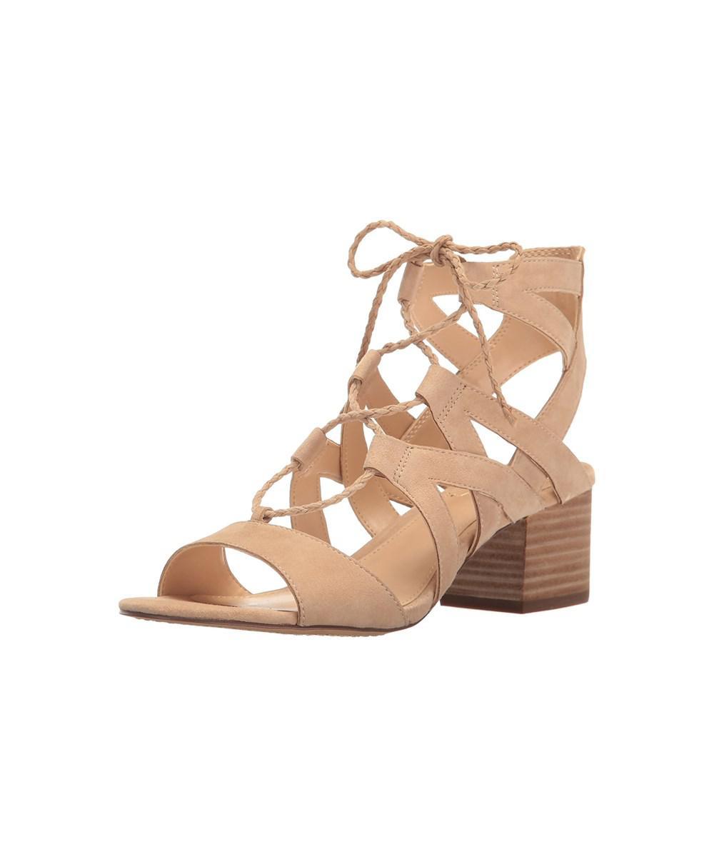 785cf9d03488ea Lyst - Vince Camuto Women s Fauna Dress Sandal in Brown