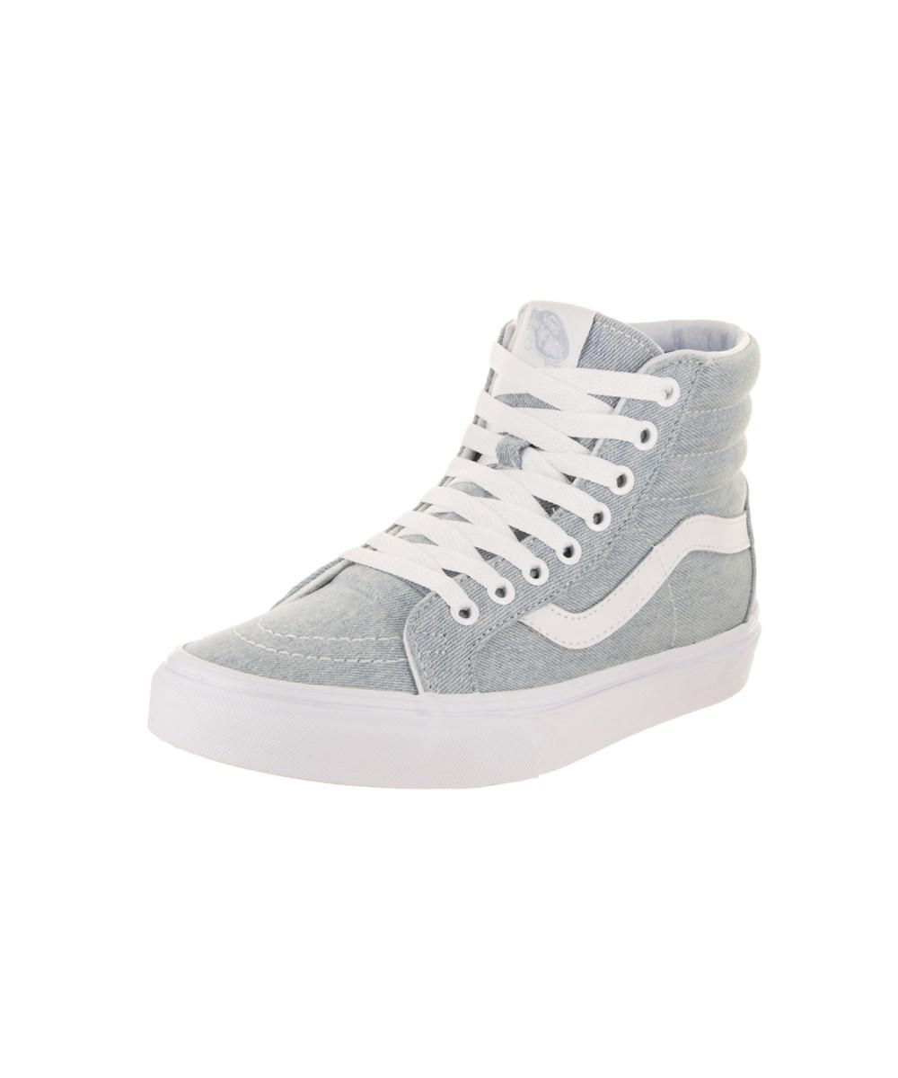 bfc6b883e7 Lyst - Vans Unisex Sk8-hi Reissue (denim) Skate Shoe in Blue for Men