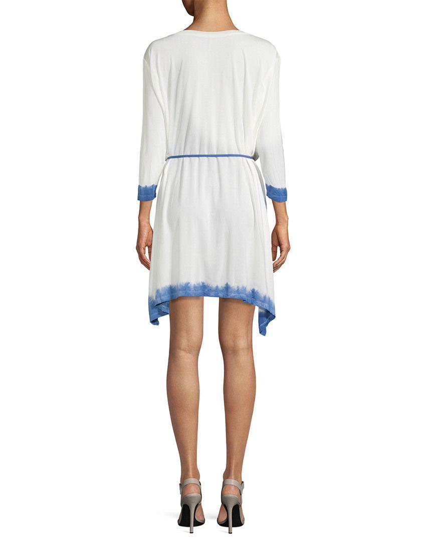 e17285477864 Lyst - Young Fabulous   Broke Getaway Tie-dyed Dress in Blue