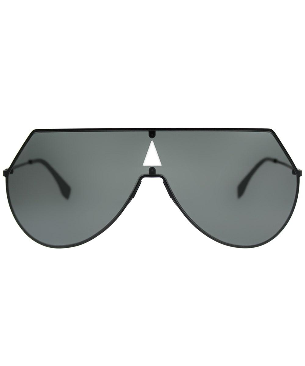 3ef0b3f30b1 Lyst - Fendi Eyeline Ff0193s 807 Black Shield Sunglasses in Black for Men