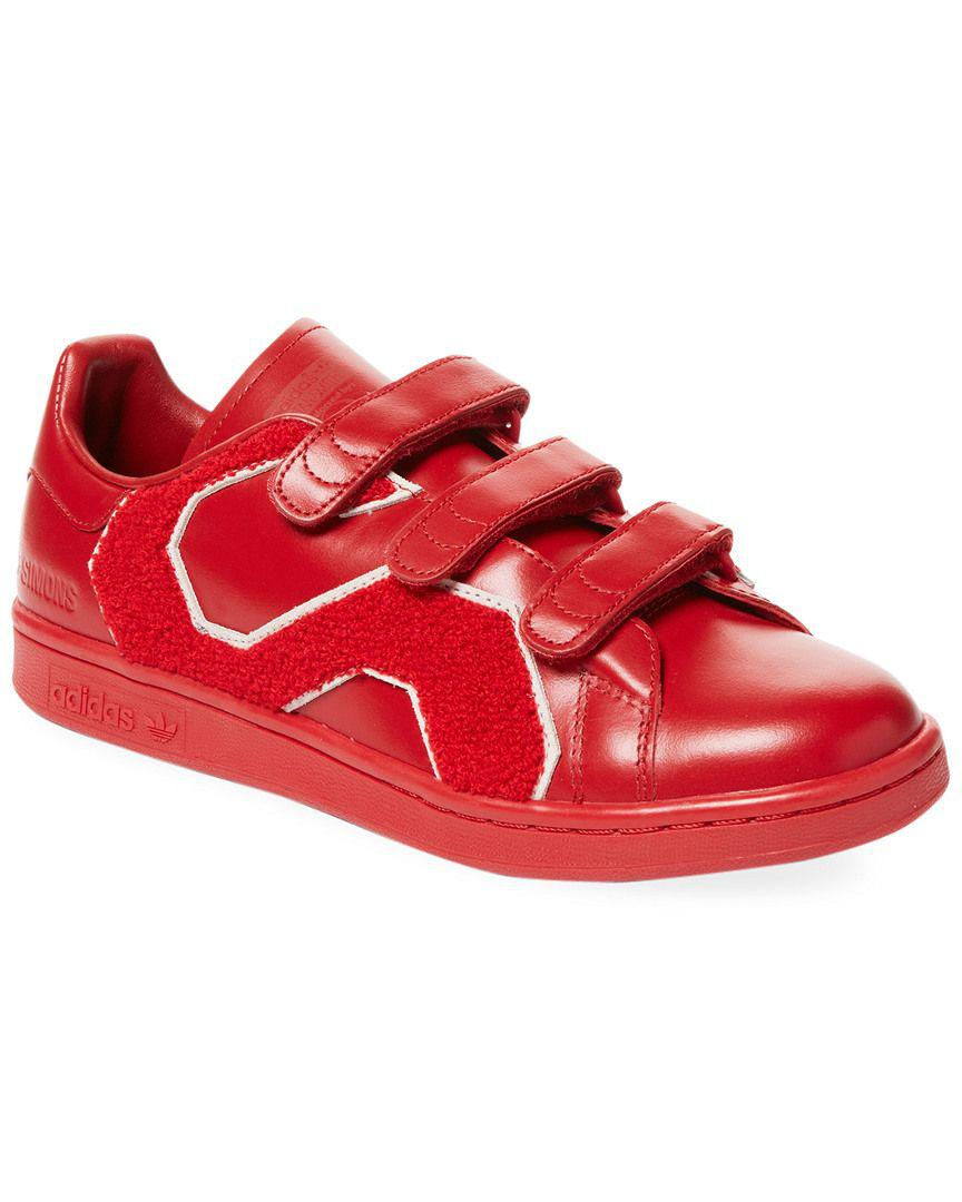 11498b022241 Lyst - Adidas By Raf Simons Rs Stan Smith Comfort Badge Low-top ...