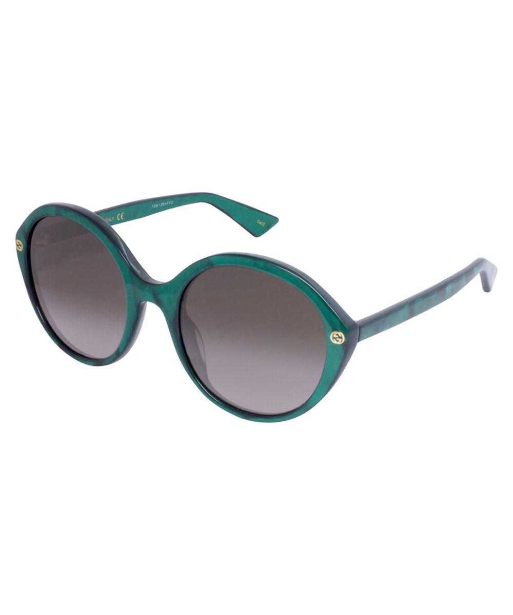 7d9b72ee48 Lyst - Gucci Women s Gg0023s 55mm Sunglasses