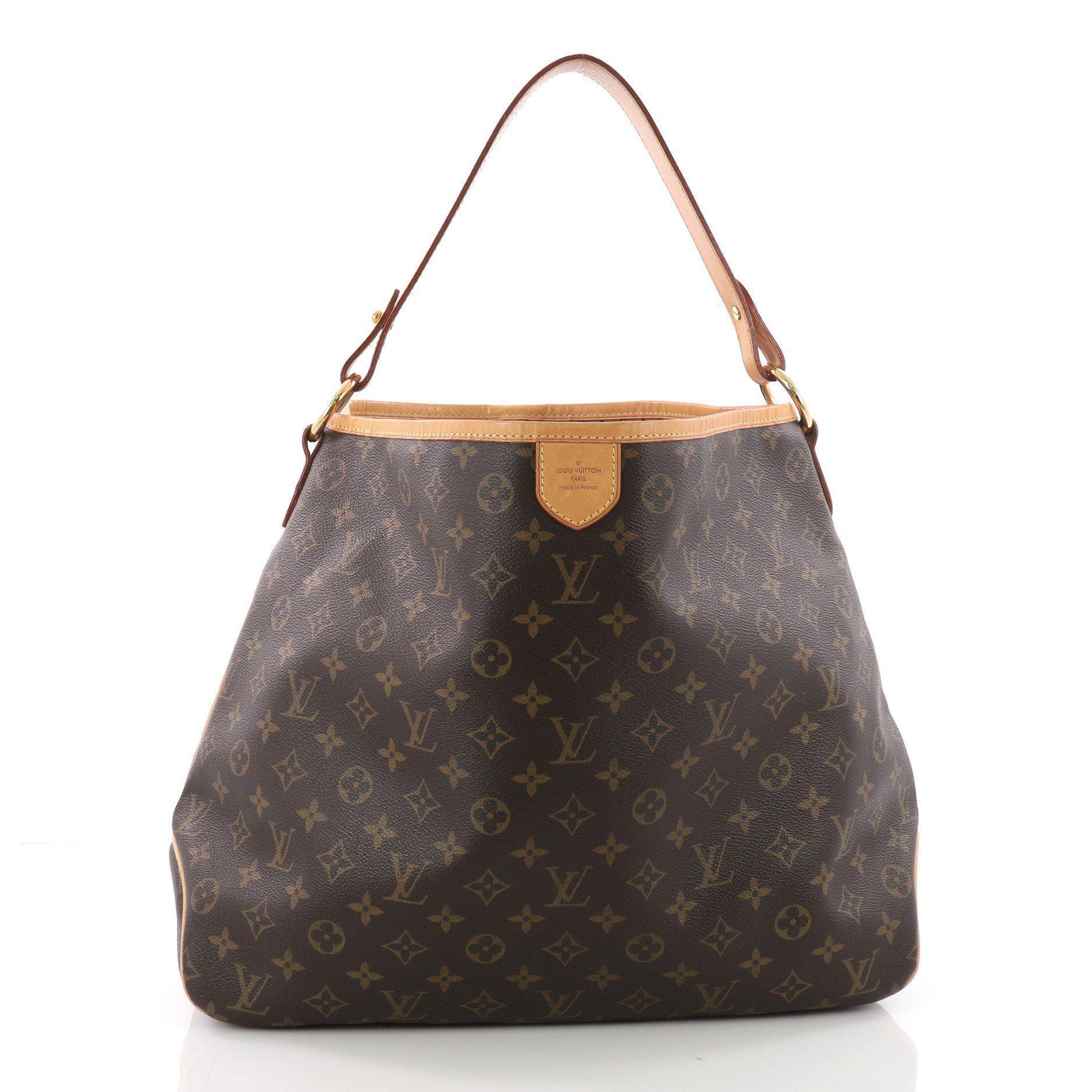28dc15c3f09 Louis Vuitton. Women s Pre Owned Delightful Handbag Monogram Canvas Mm