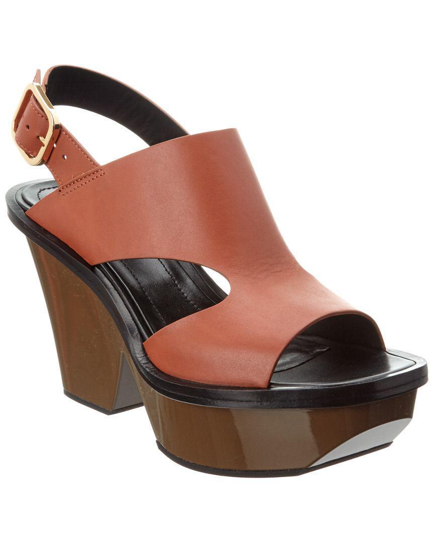 18fa5b1a00b Marni. Women s Leather Platform Sandal
