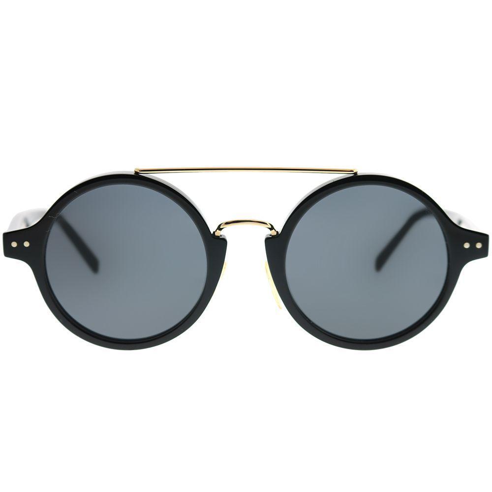 35870fca6af Lyst - Céline Tailor Cl 41442 f 807 Ir Black Round Sunglasses in Black