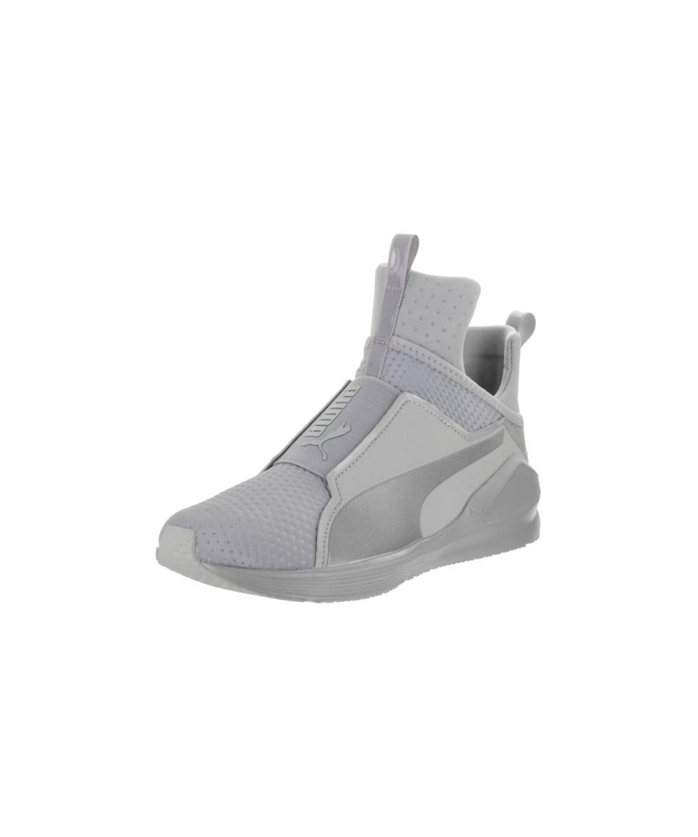 68f35c8606a7a3 Lyst - Puma Women s Fierce Quilted Training Shoe in Metallic