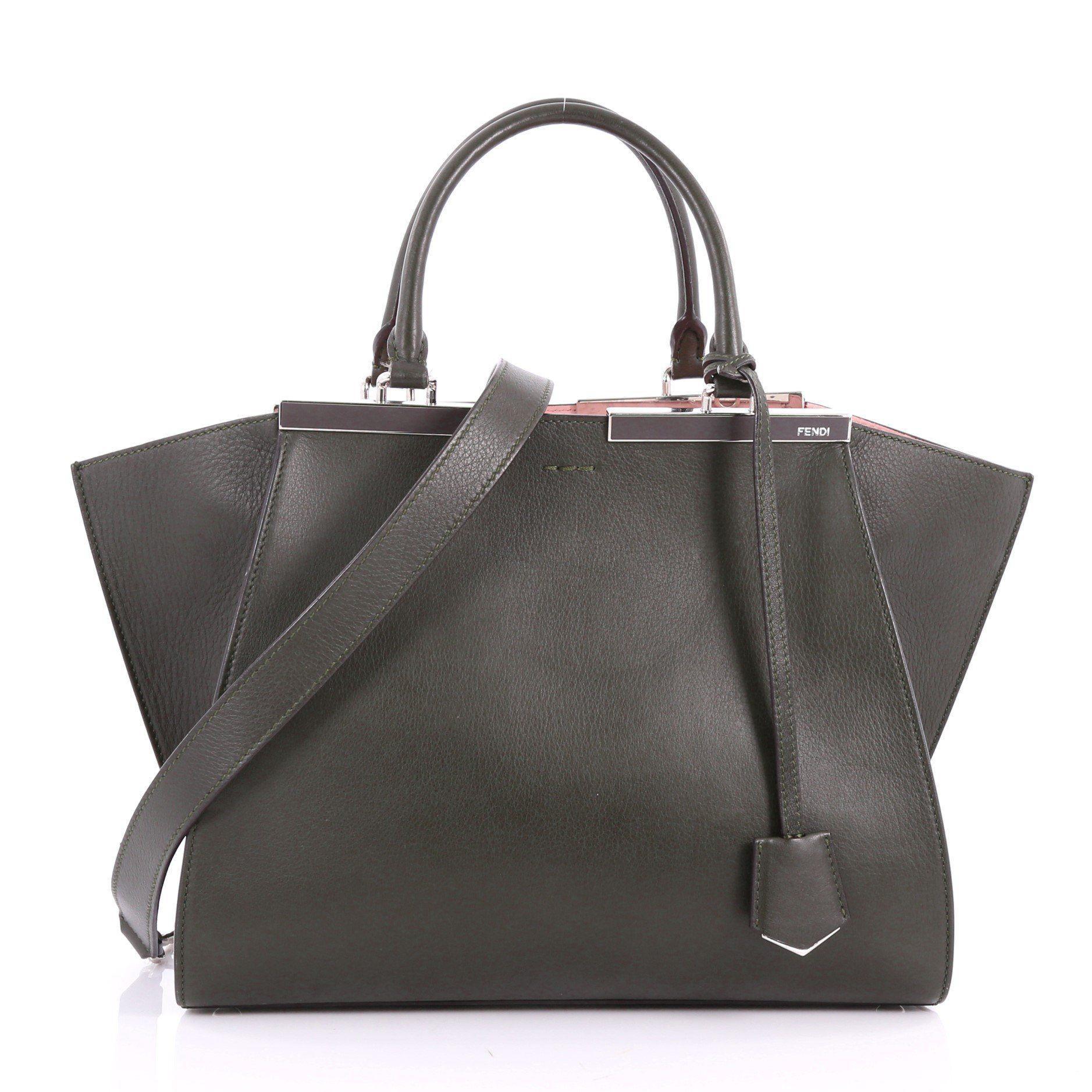 768a0653e78a Fendi - Black Petite 3jours Handbag Leather - Lyst. View fullscreen