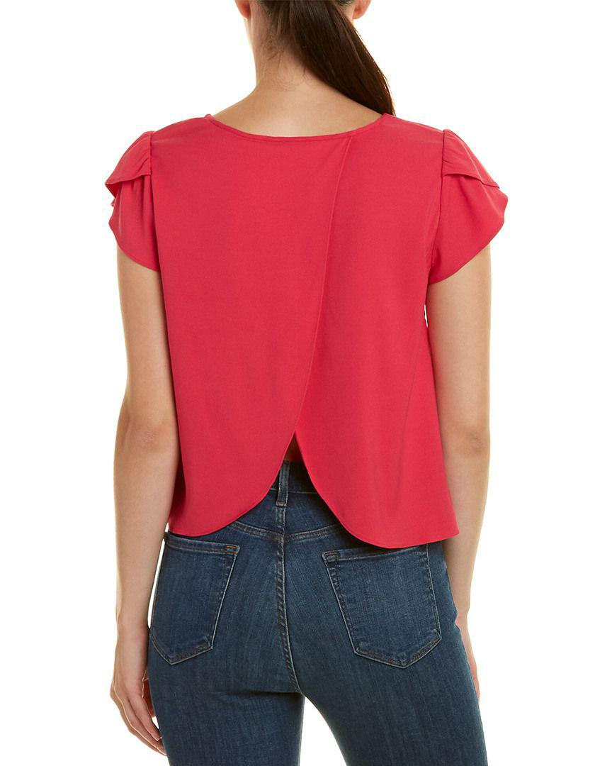 434bd4ffc3b57 Lyst - Joie Stellany Top in Pink