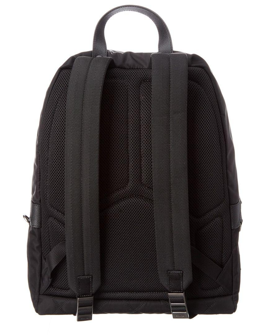 Lyst - Prada Fabric Backpack in Black for Men - Save 40.85526315789474% 1de528769580a