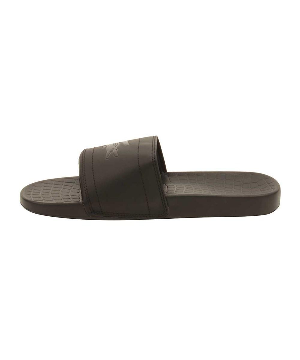 10eabceea Lyst - Lacoste Men s Fraisier 118 Slide Sandal in Black for Men