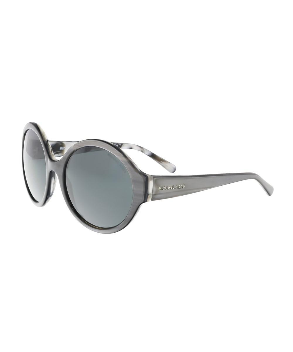 MICHAEL KORS Michael Kors Damen Sonnenbrille »SEASIDE GETAWAY MK2035«, schwarz, 321187 - schwarz/ braun