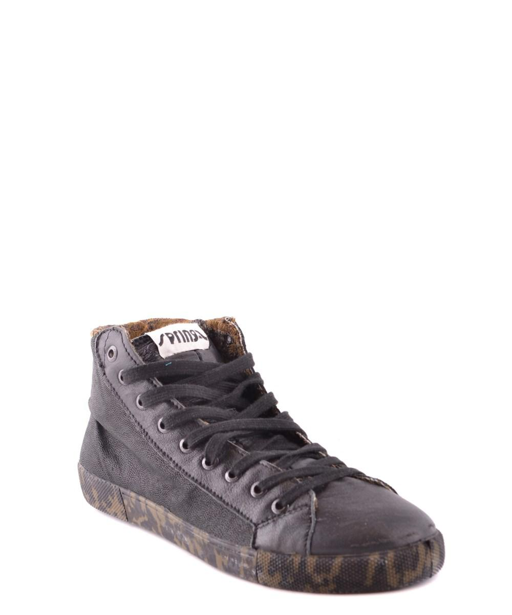 Springa Men's Black Leather Hi ... sale clearance for sale footlocker discount pictures MnxTYwRy3