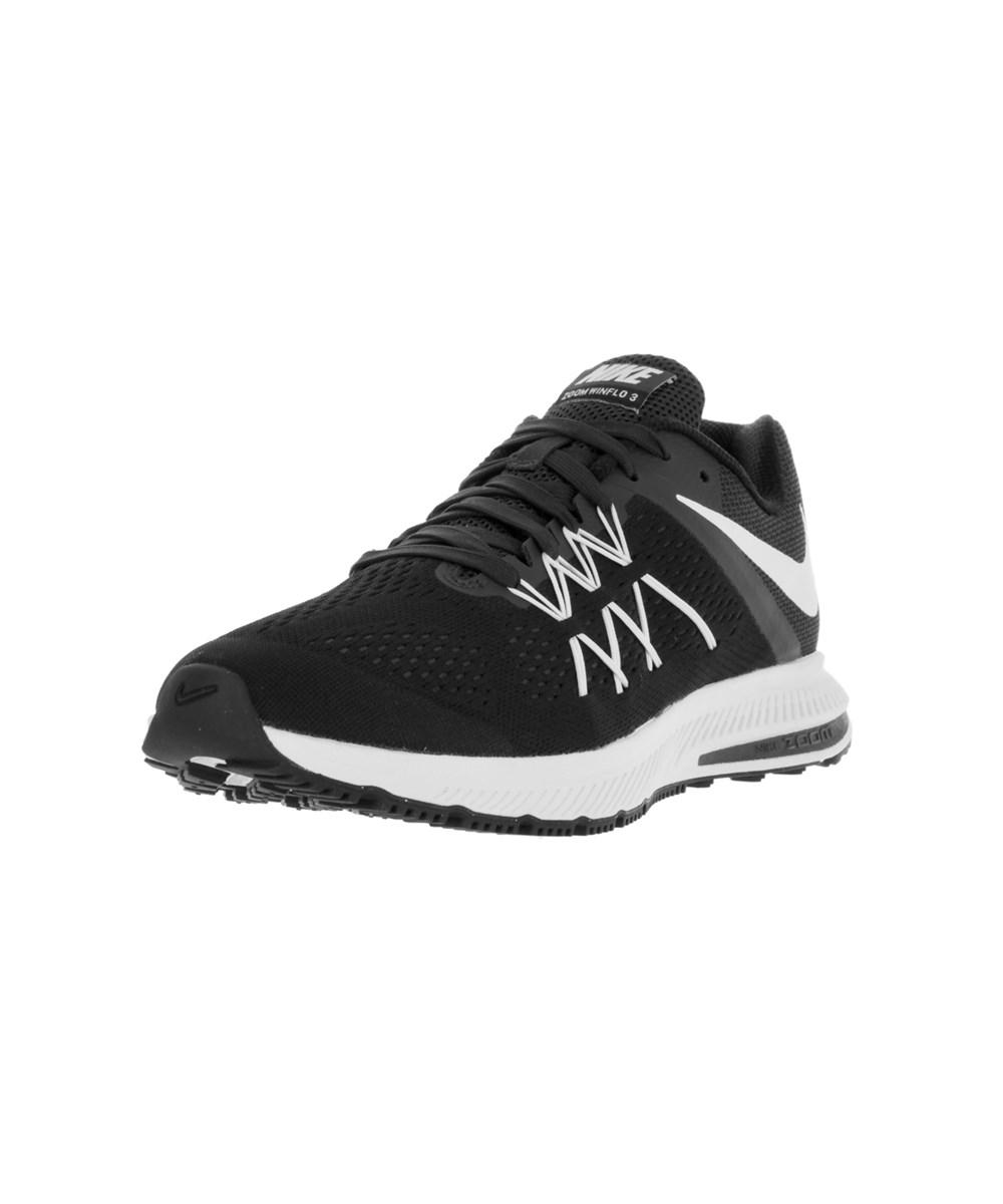 new products fa618 64234 Nike. Black Men s Zoom Winflo 3 Running Shoe