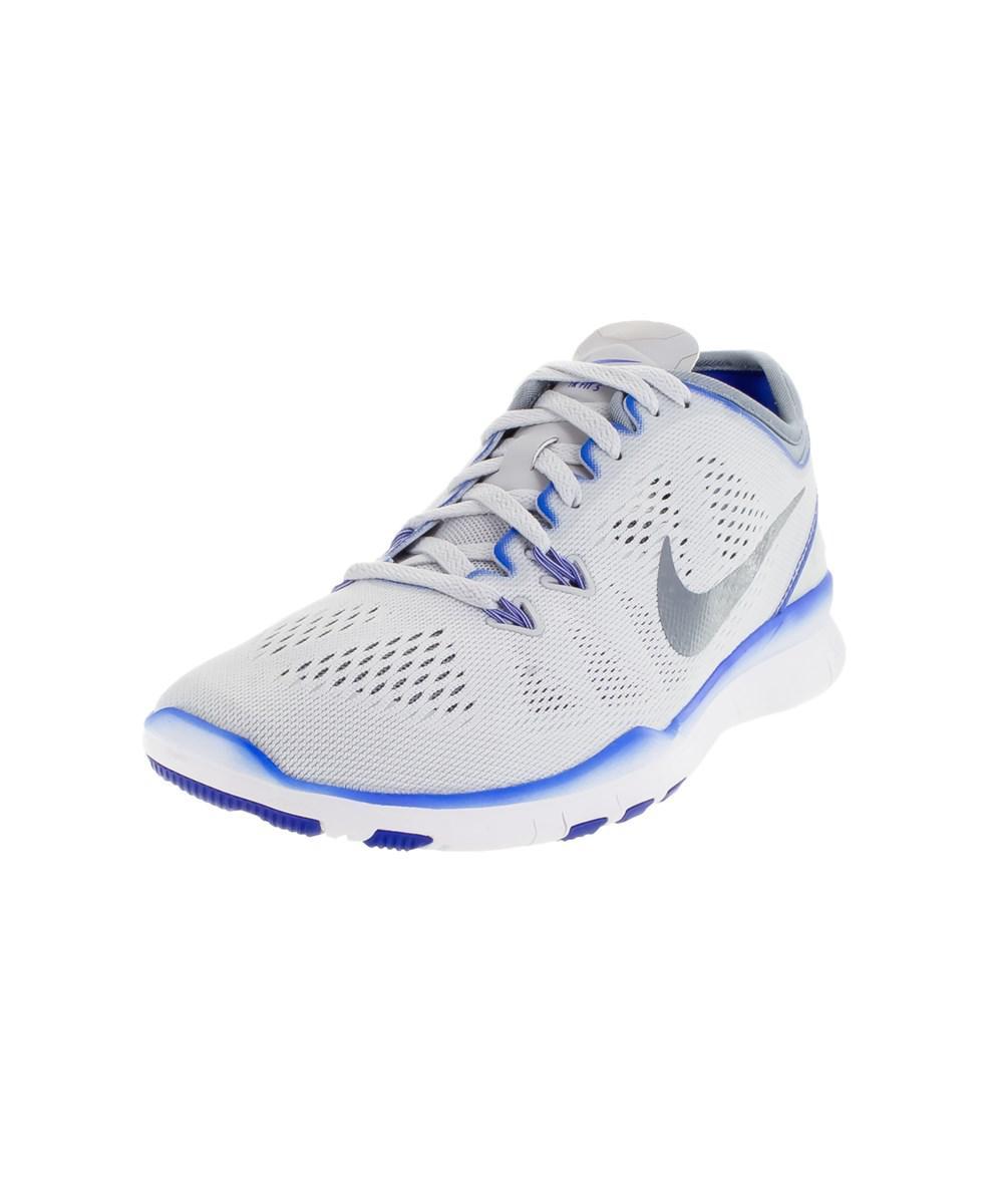 635e21b924a8 Lyst - Nike Women s Free 5.0 Tr Fit 5 Training Shoe in Blue