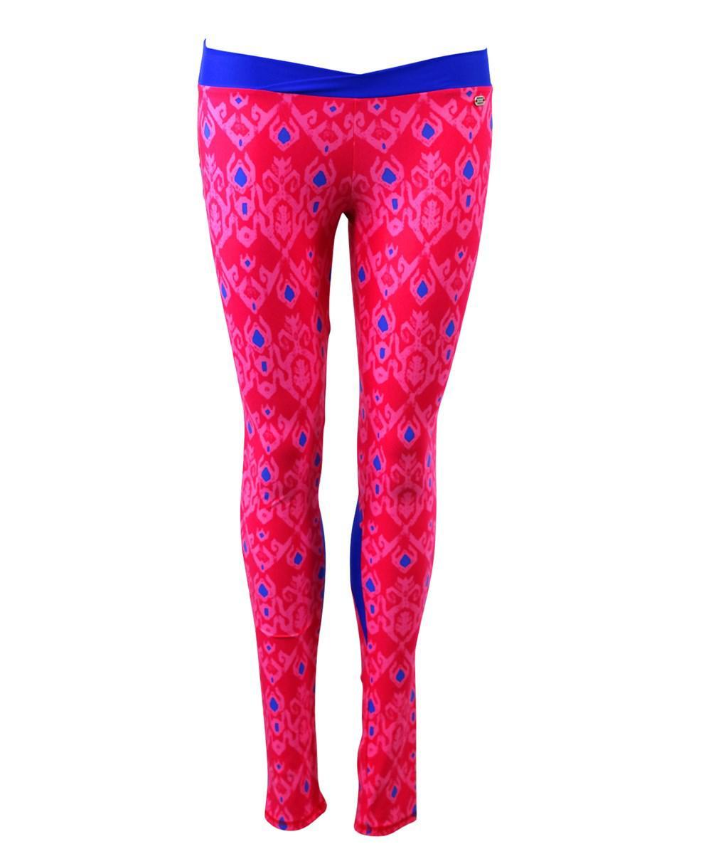 Banana Moon. Women's Pink Sport Leggings Step Sunrun
