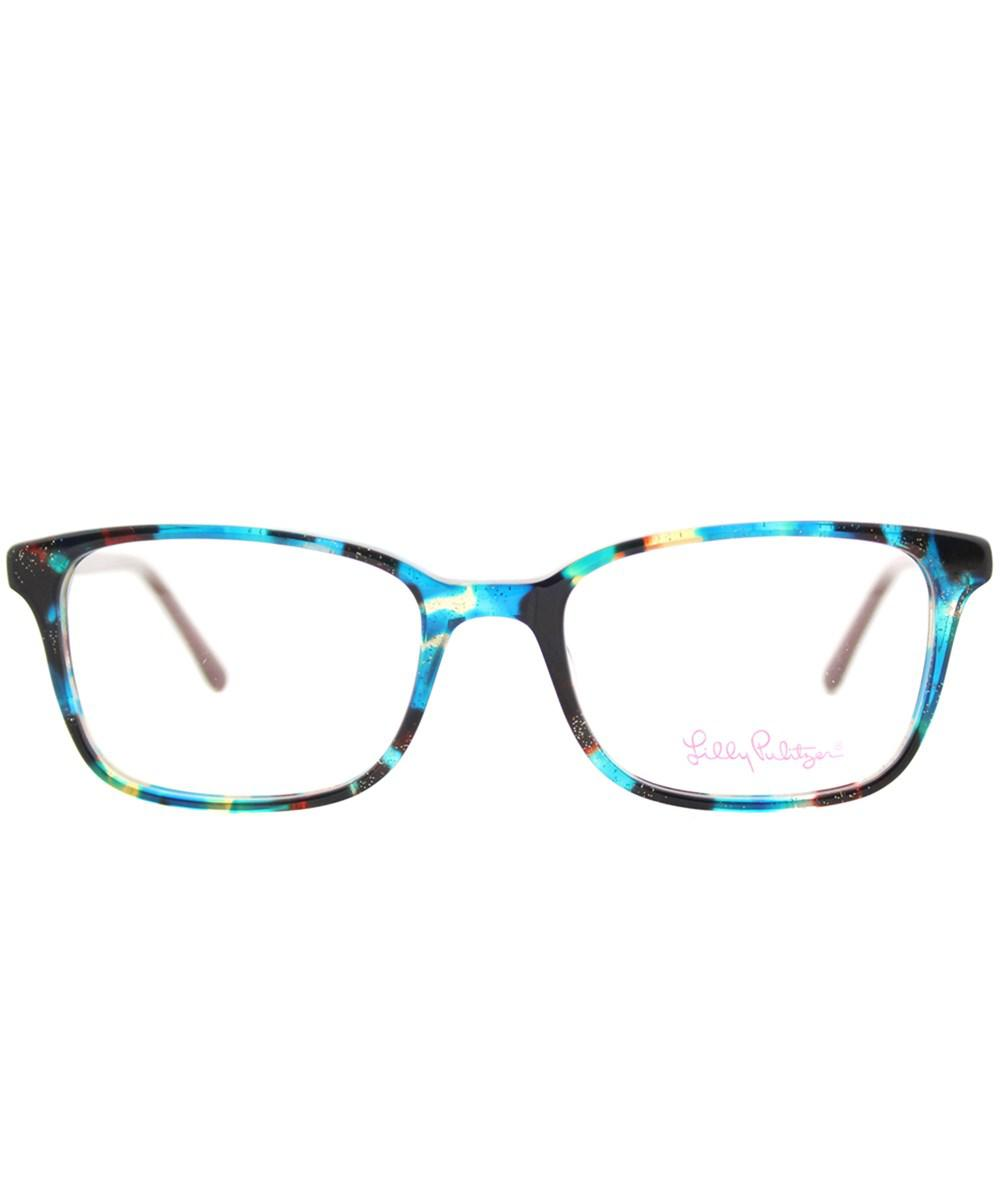 ba06ae2e015 Lyst - Lilly Pulitzer Witherbee Aq 49mm Aqua Tortoise Rectangle ...